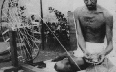 Mahatma Gandhi y la no violencia