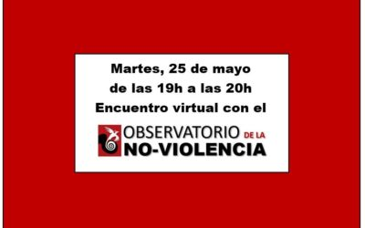 Encuentro informal con el Observatorio de la no-violencia