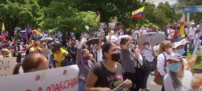 Medellin: Secretaría de la No Violencia acompañó marchas hasta la madrugada