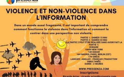 Séminaire virtuel : violence et non-violence dans l'information