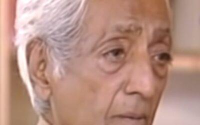 Krishnamurti, conversation avec David Bohm