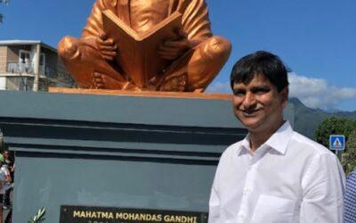 Journée internationale de la non-violence : L'hommage de JM Virapoullé à Ghandi